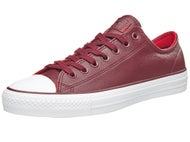 Converse CTAS Pro Shoes Deep Bordeaux/Casino/White