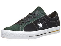 Converse One Star Pro Shoes  Deep Emerald/Black/Yellow