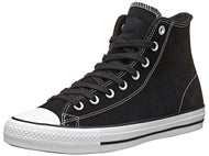 Converse CTAS Pro Hi Shoes Black/White Suede
