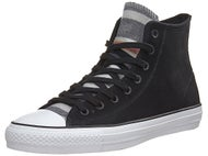 Converse CTAS Pro Hi Blanket Stripe Shoes Black/Wht/Blk