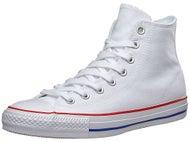 Converse CTAS Pro Hi Shoes White/Red/Blue Canvas