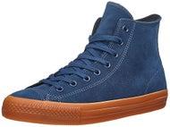Converse CTAS Pro Hi Shoes  Navy/Gum Suede
