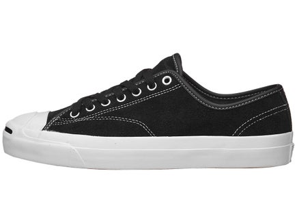 6ac39191f993b3 Converse Jack Purcell Pro Shoes Black Black White Suede