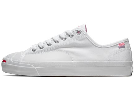 a043eefab26e Converse Jack Purcell Pro Shoes White Racer Pink