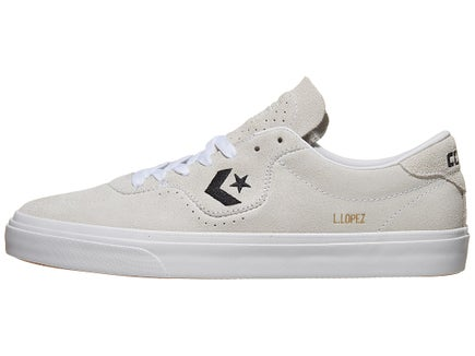 e5f8fb7250fa Converse Louie Lopez Pro Shoes White White Black Suede