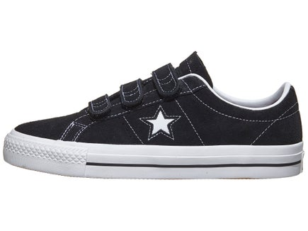 dc9d70b86bb0 ... new zealand converse one star pro 3v shoes black red white 3f99a 91a3a