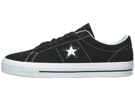 a950cfee9a82d9 Converse One Star Pro Shoes Black White White