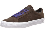 Converse One Star Pro Leather Shoes Cocoa/Black/White
