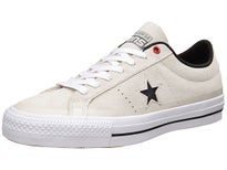 Converse One Star Pro Shoes Buff/Black/White