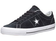 Converse One Star Shoes  Black/White/Black
