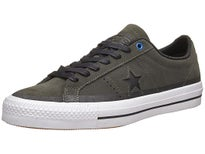 Converse One Star Pro Shoes  Cast Iron/Black/White