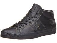 Converse One Star Mid Pro Shoes Black/Black/Black