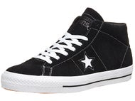 Converse One Star Mid Pro Shoes  Black/White/Black
