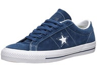 Converse One Star Shoes  Navy/White/White