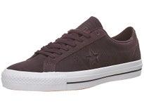 Converse One Star Pro Shoes  Black Cherry/Black