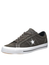 Converse One Star Pro Shoes  Charcoal/Black/White