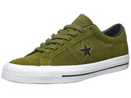 Converse One Star Pro Shoes  Imperial Green/Black/White