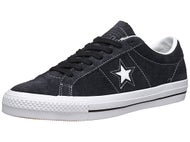Converse One Star Pro Shoes  Vintage Suede Black/White