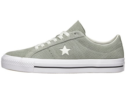 241d546c466644 Converse One Star Pro Shoes Dk Stucco Driftwood Wht