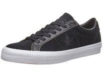Converse One Star Pro Ox Shoes Black/White/Black