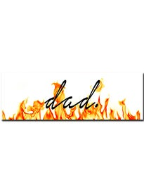 Dads Lounge Logo Sticker\ ire