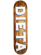 Dieta Woodgrain Logo Brown Deck  8.25 x 32