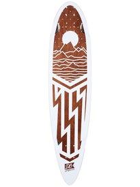 DB Longboards Cascasde Walnut Deck  8.5 x 38