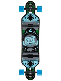 DB Longboards Urban Native Blue/Grn Complete  8.88 x 38