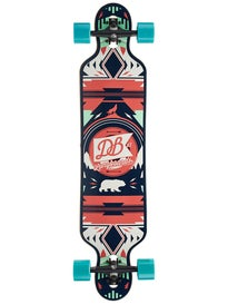DB Longboards Urban Native Red/Sea Complete  9.25 x 40