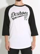 DC ATH Script Raglan T-Shirt