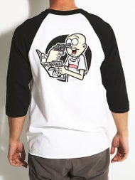 DC x Big Brother Stupid 3/4 Sleeve T-Shirt