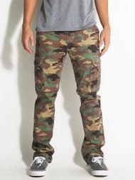 DC Cole Cargo Straight Pants Camo