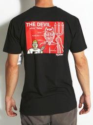 DC x Big Brother Devil Diagram T-Shirt