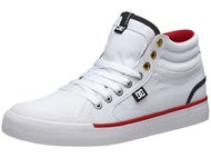DC Evan Smith Hi Shoes White