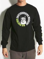 DC x Big Brother Gary Cat Longsleeve T-Shirt