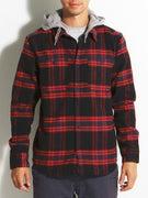 DC Hood Up Flannel Shirt