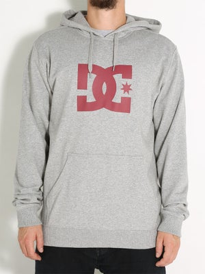 DC Star Pullover LG Heather Grey