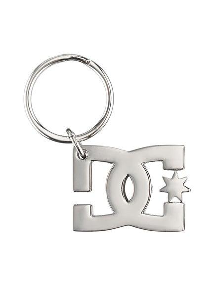 DC Star Keychain Silver