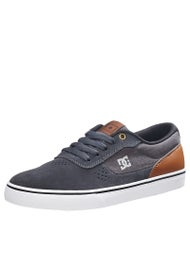DC Switch S Shoes  Silver