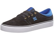 DC Trase S Shoes Black/Blue