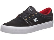 DC Trase S Shoes Black/White/True Red