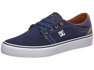 DC Trase S Shoes Navy/Dk Chocolate