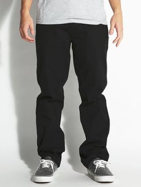 DC Worker Roomy Chino Pants Black