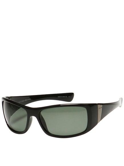 Dot Dash Convex Sunglasses
