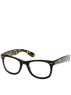 Dot Dash Plimsoul Black Gloss/Clear Lens