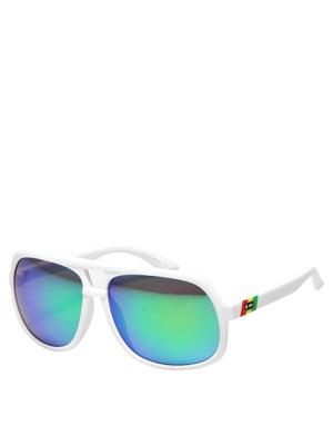 Dot Dash Young Turks Rasta/Green Chrome Lens