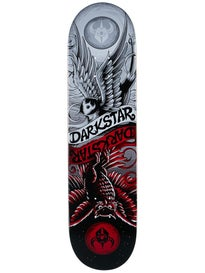 Darkstar Early Bird Red/Silver Deck  8.0 x 31.6