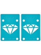 Diamond Diamond Blue Riser Pads 1/8