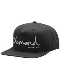 Diamond OG Script Snapback Hat