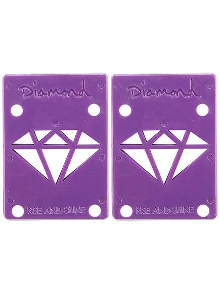 Diamond Purple Riser Pads 1/8